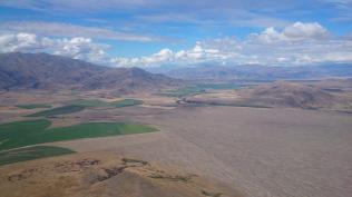 A long crossing into the Mackenzie basin