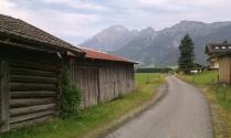Another dubious shortcut near Saalfelden