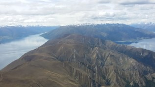Wanaka and Hawea still glassy despite wind