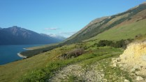 Finding a camp, Lake Hawea