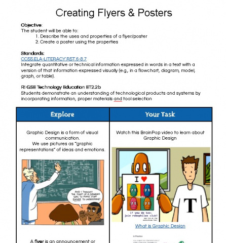 how to create poster in google docs
