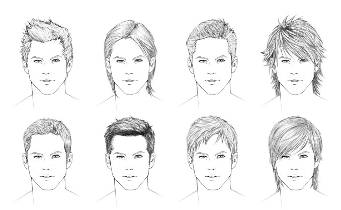Image Result For Anime Hairstyles Men