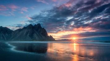 Sonnenaufgang bei Höfn