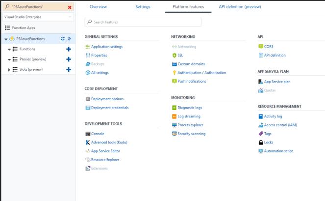 Office 365 - Azure - Running PnP PowerShell using Azure Functions 5