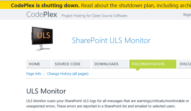 SharePoint 2010, 2013, 2016 - Monitor your SharePoint logs. 1