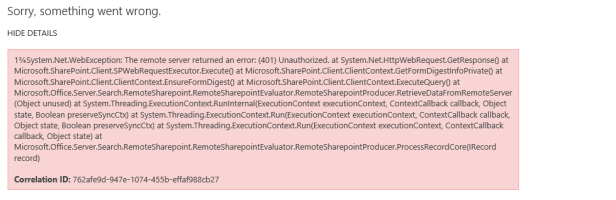 SharePoint 2016 - Connect search between two farms. 1