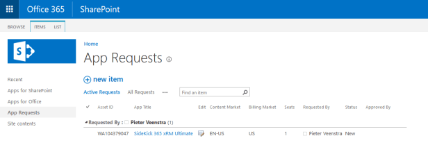 Office 365 - How to purchase an app Microsoft 365, Microsoft SharePoint