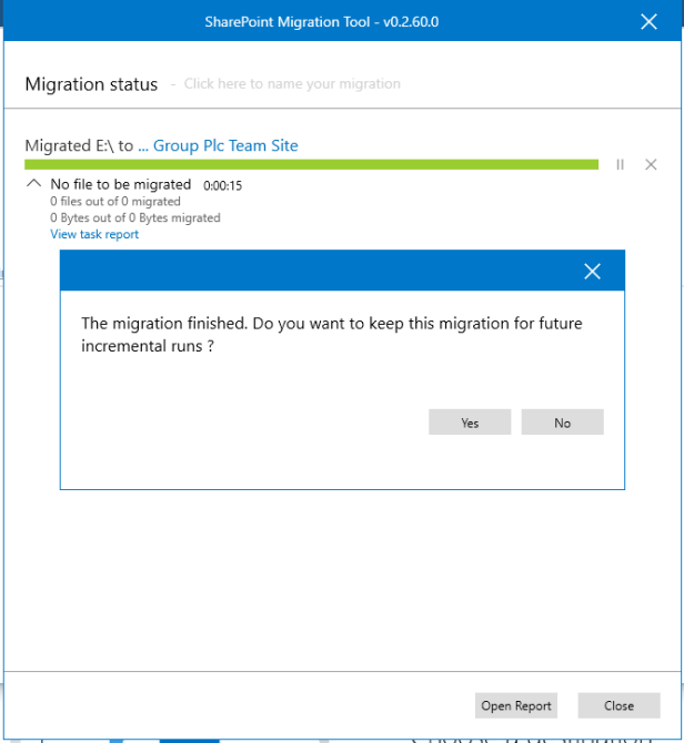 SharePoint  - Migrations without 3rd party tools ... soon 9