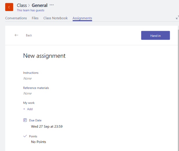Microsoft Teams - Roles, a deep dive through Assignments 8