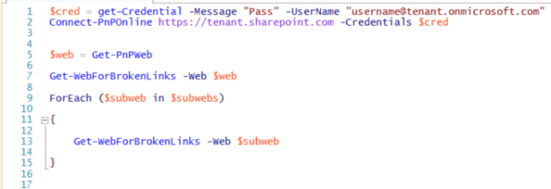 Office 365 - Check your site for broken links in SharePoint Online - Part 1 1