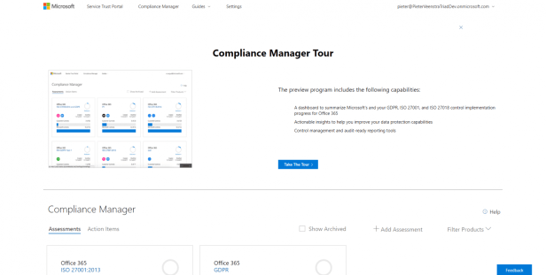 Office 365 - Compliance Manager, no time to waste! 1
