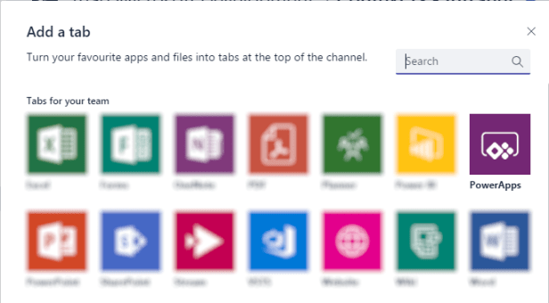 Microsoft Teams - Integration with Visual Studio Team Services using PowerApps. 1