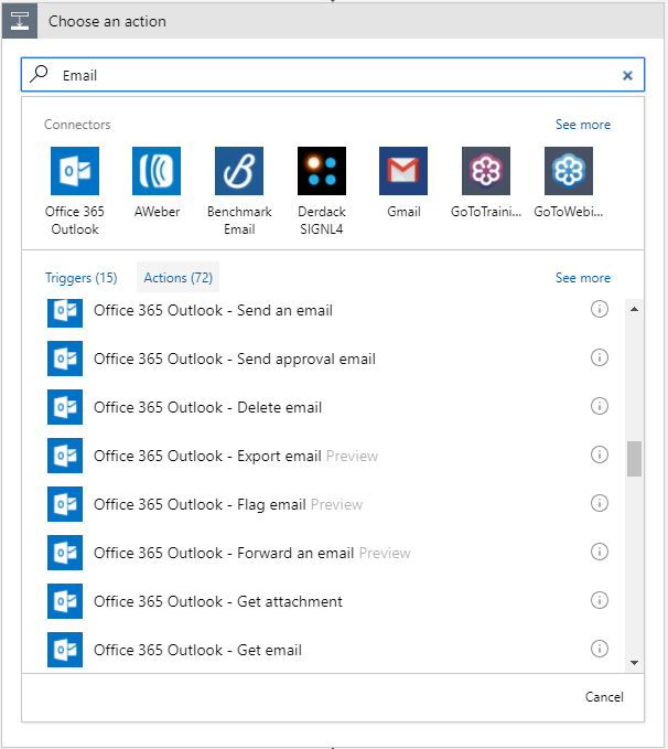 How to migrate from SharePoint Designer to Flow or Azure Logic Apps 20