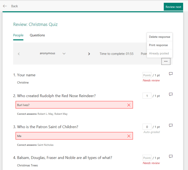 Microsoft Forms - Reports and quizzes, the full starter guide 15