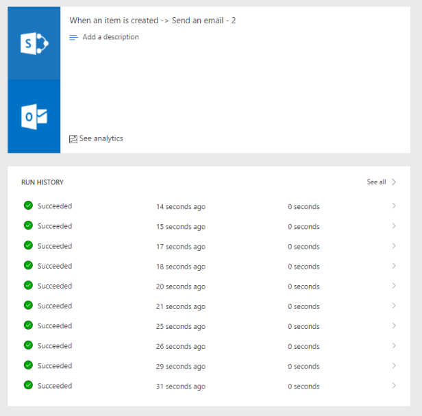 How reliable is Microsoft Flow - Reliability of triggers 3