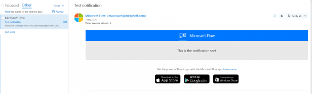 Microsoft Flow - The hidden gems, are you aware of all of these? Microsoft Flow, Microsoft Office 365 notificationemail