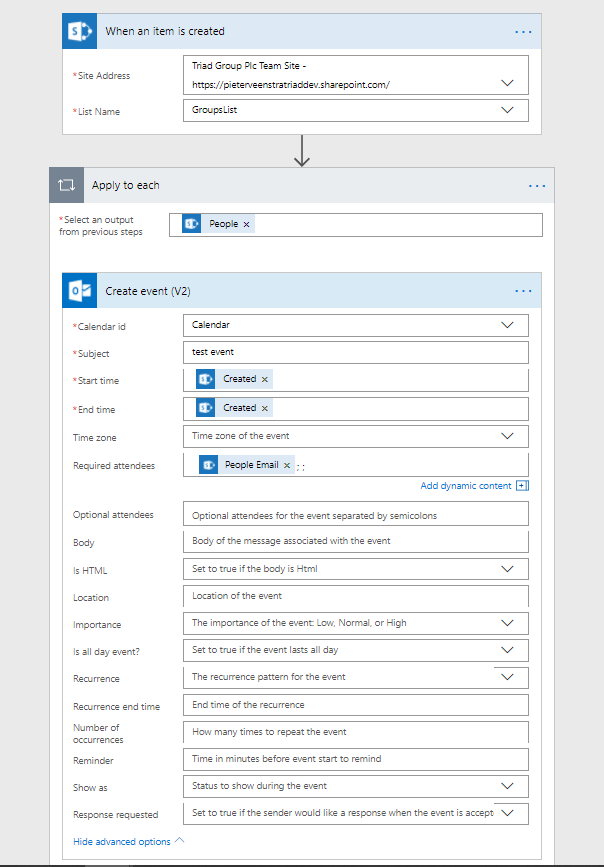 Microsoft Flow - The pains of SharePoint's multi-people fields 1