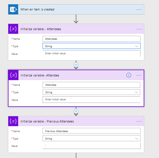 Microsoft Flow - The pains of SharePoint's multi-people fields 2