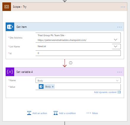 Microsoft Flow - Advanced Error Handling - Throw in flow Microsoft 365, Microsoft Flow