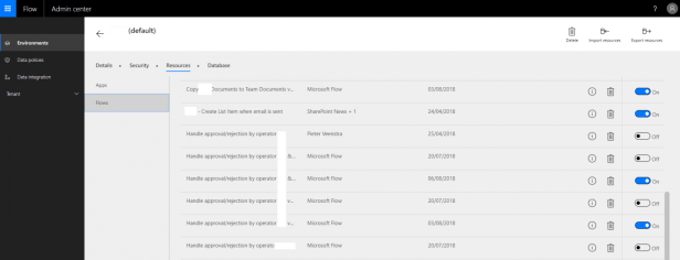 Microsoft Flow - Taking ownership of someone else's flows. 2