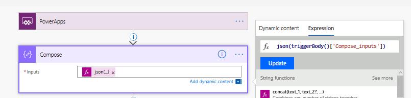 Creating a new input parameter n Power Apps
