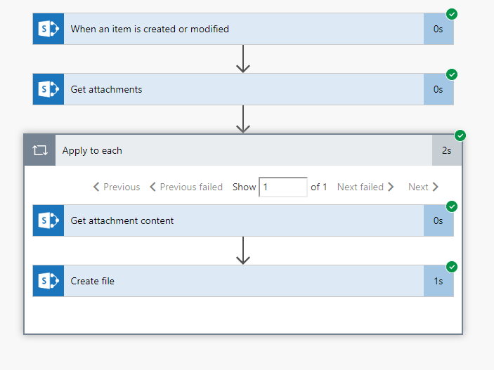 Create file from attachment