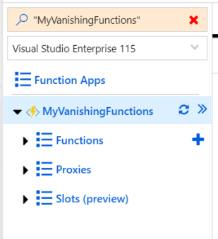 My New Function in Azure