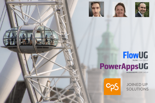 Join us at the PowerApps and Flow User Group UK (London)