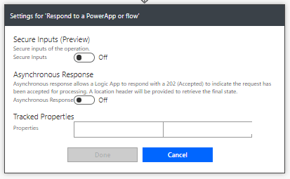 Asynchronous Response in Power Apps action Power Automate