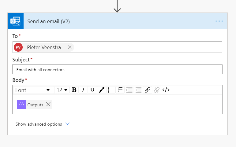 3 ways of emailing data in Power Automate Microsoft Office 365 image 5