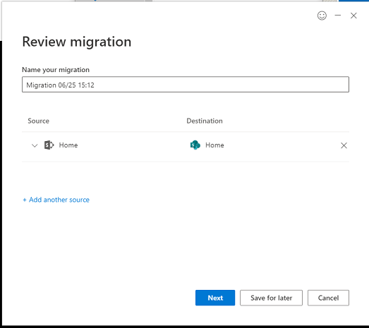 SharePoint Migration Tool, Wow! 7