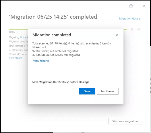 SharePoint Migration Tool, Wow! 9