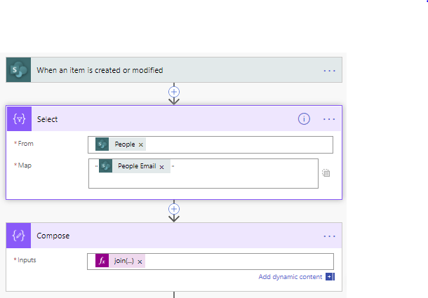 SharePoint's multi-people fields in Power Automate 5