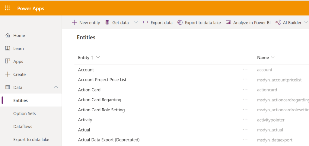 Export data and import it in Dynamics 365 1