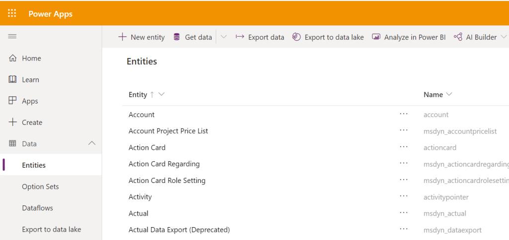 Export data and import it in Dynamics 365 Microsoft 365, Microsoft Dynamics 365