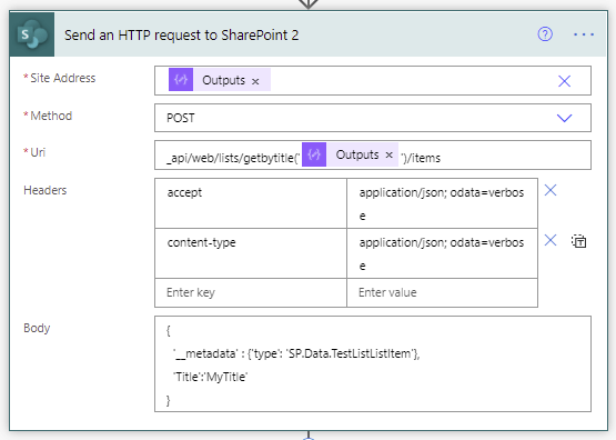 1 Better way to use Create Item in SharePoint with Power Automate 2