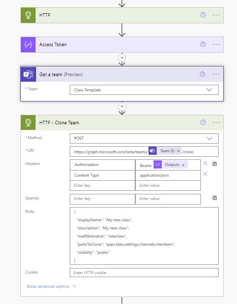 Create a Microsoft Teams team template Microsoft Office 365, Microsoft Power Automate, Microsoft Teams image 19