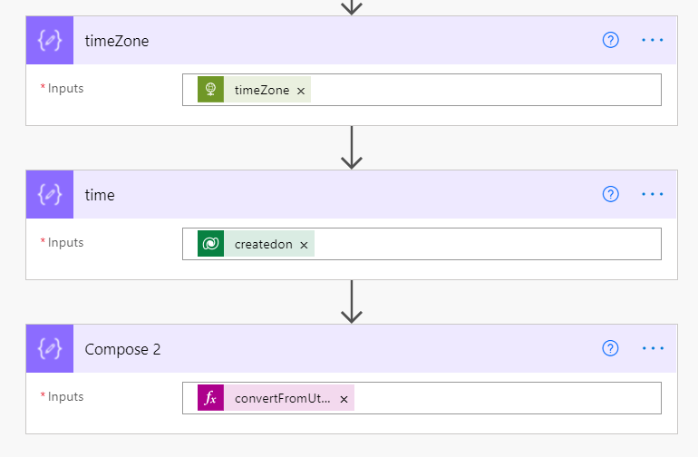 Get the local trigger time in Power Automate Microsoft Office 365 converrt local trigger time
