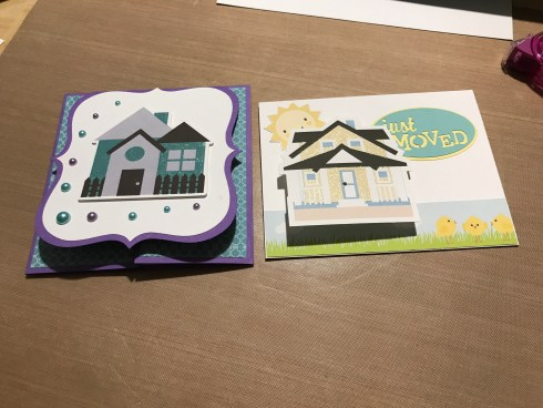 Several friends & family members moved into new houses recently, so of course they got cards from me!