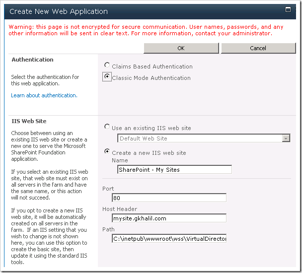 image thumb1 Configuring My Site in SharePoint 2010