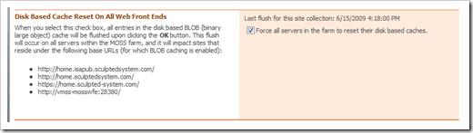 The BlobCacheFarmFlush.aspx Page
