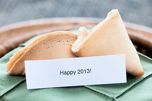 Happy 2013 Fortune Cookie
