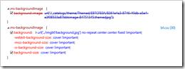 Analysis Of Styles In Internet Explorer Developer Tools