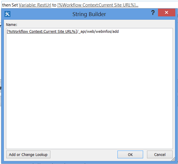 Create a SharePoint Site (SPWeb) using REST in SPD 2013 Workflow (3/6)