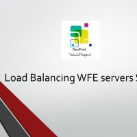 load balancing WFE servers sharepoint