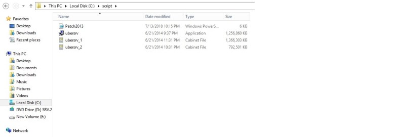Patching SharePoint