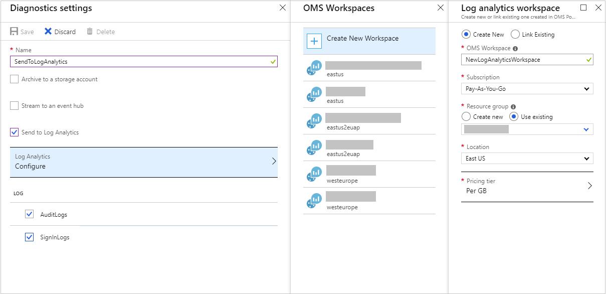 Integrate Azure AD logs with Azure Log Analytics 1209x526