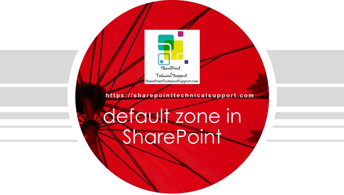 zones in sharepoint