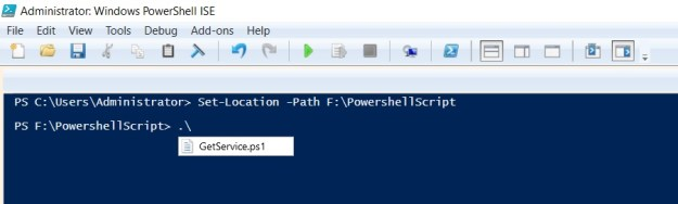 change directory powershell-2