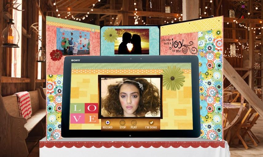 Share the Joy! Kiosk Rustic Chic Wedding
